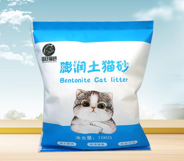 10KG猫砂编织袋